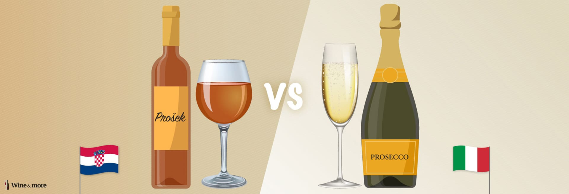 Prosek vs Prosecco - The Wine & More