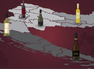 Croatian Wine Map – Wine Regions of Croatia