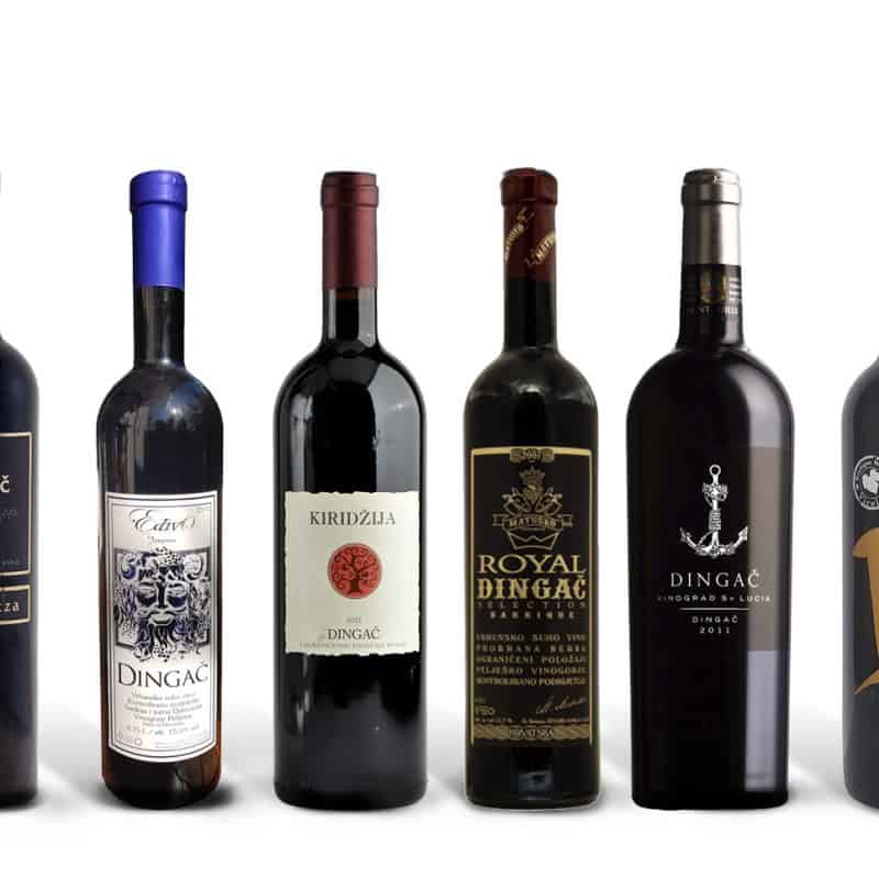 Best of Dingač Wine Case
