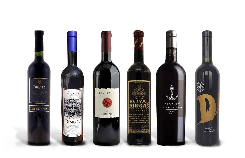 Best of Dingač Wine Case