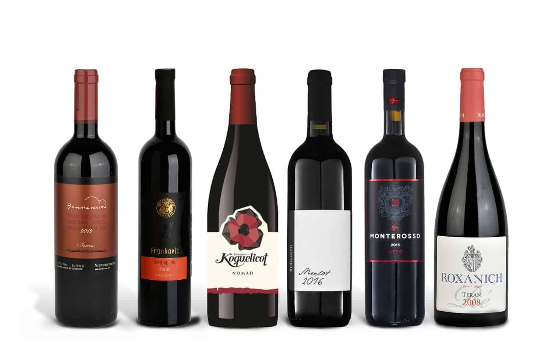 Istrian Red Wine Case