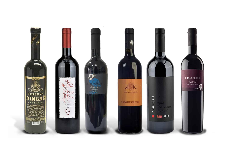The Best Croatian Red Wines Case