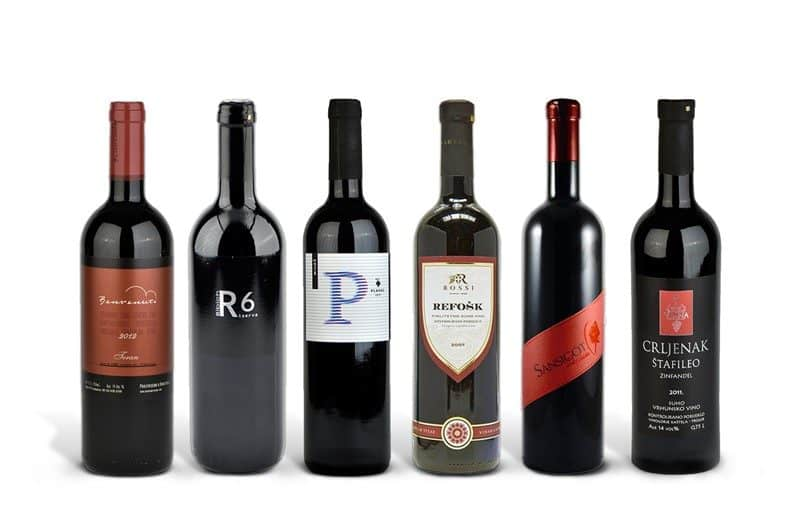 Indigenous Croatian Red Wine Case