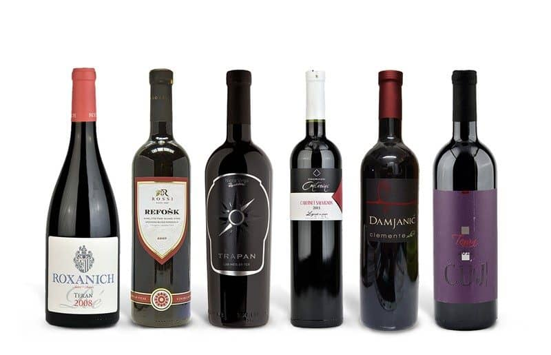 Istrian Red Wine Case