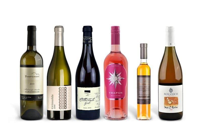 Istrian White Wine Case