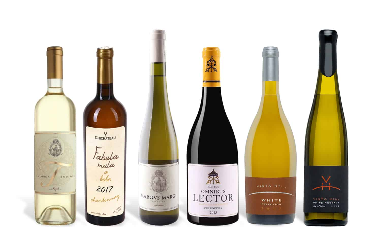 Serbian White Wine Selection