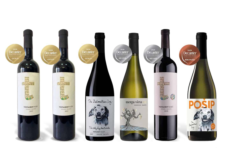 Testament Decanter Wine Awards Box