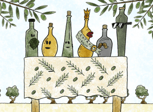 "6 Types of Olive Oils – including that special ""extra"""